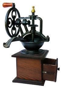 Old Manual Coffee Grinder