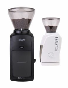 Baratza Encore Conical Burr Grinder review black and white