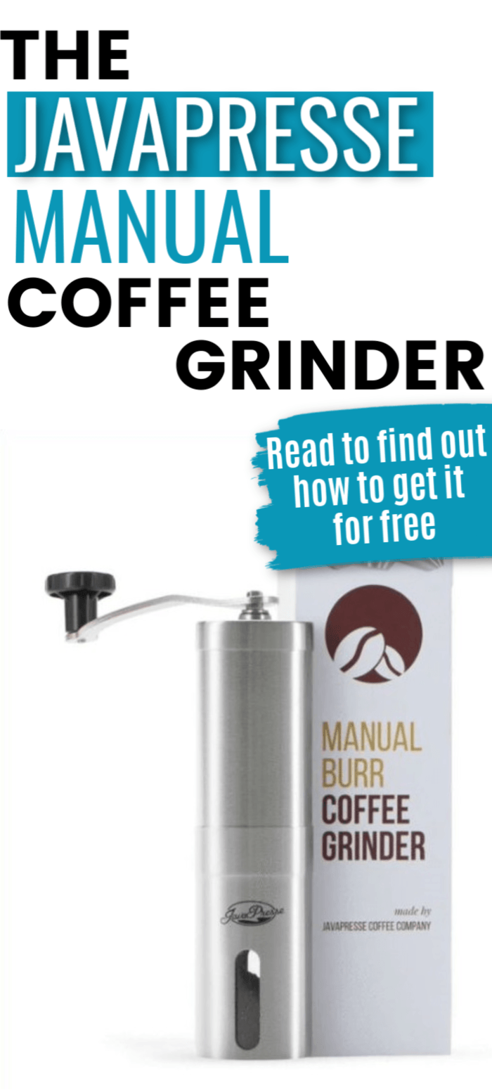 JavaPresse Manual Coffee Grinder Review 2021: Plus Secret: How To Get It For Free!