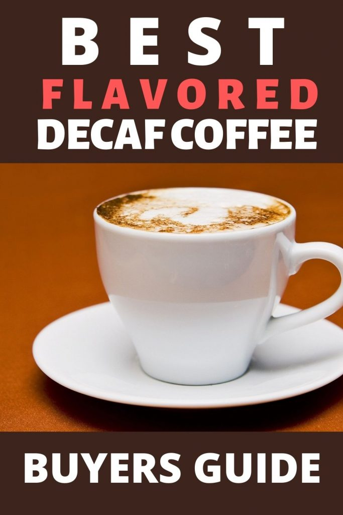 flavored decaf coffee banner