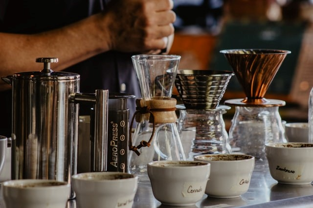 Making Coffee Brewing