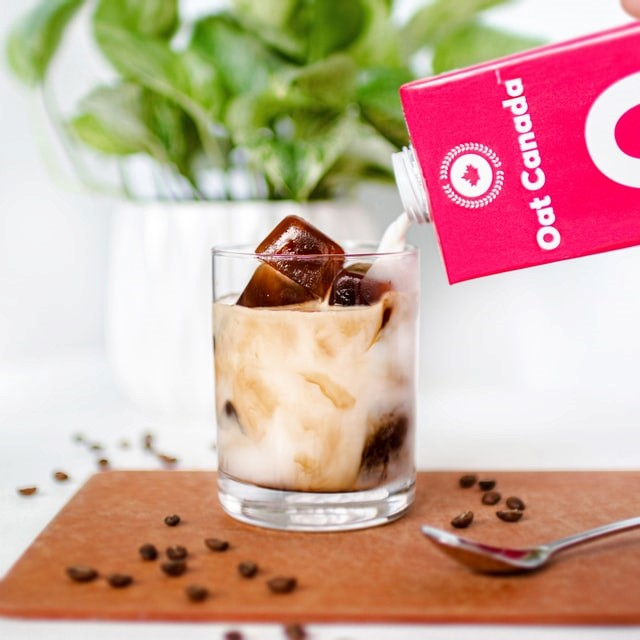Coffee and Cream Ice Cubes