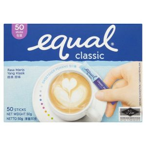 Equal coffee sweetener