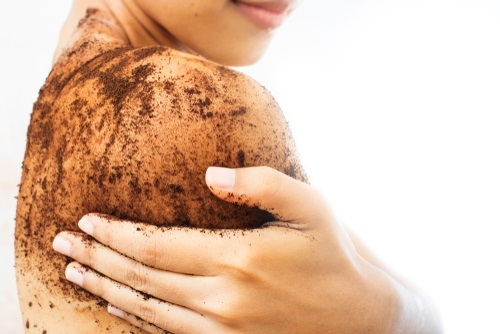 What to do with old coffee beans - exfoliate your body